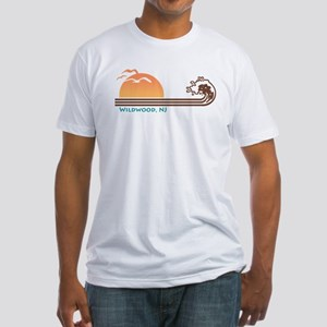 Wildwood New Jersey Fitted T-Shirt
