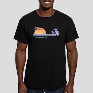 Wildwood New Jersey Men's Fitted T-Shirt (dark)