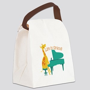 Life Is Grand! Canvas Lunch Bag