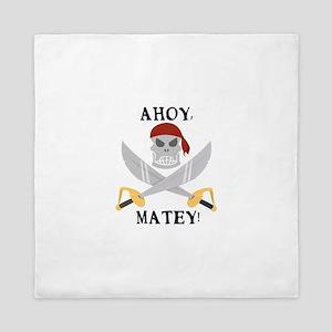 Ahoy Matey Queen Duvet
