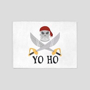 Yo Ho 5'x7'Area Rug