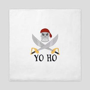 Yo Ho Queen Duvet