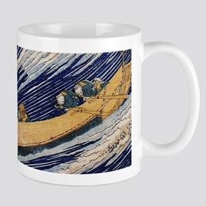 Hokusai Ocean Waves Mugs