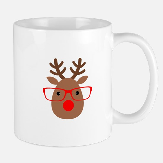 Hipster Reindeer Mugs