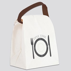 Dine Time Canvas Lunch Bag