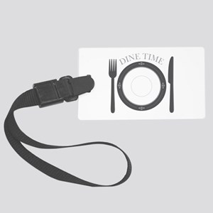 Dine Time Luggage Tag