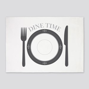 Dine Time 5'x7'Area Rug