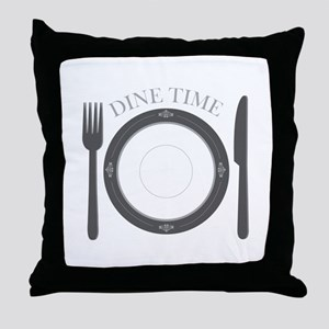 Dine Time Throw Pillow
