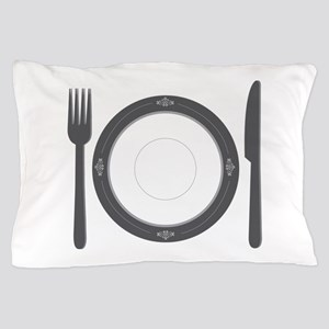 Dinner Place Setting Pillow Case