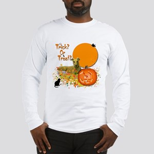 Halloween Greyhound Long Sleeve T-Shirt