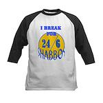 TALMUDIC TEE-CHINGS SHABBAT Kids Baseball Jersey