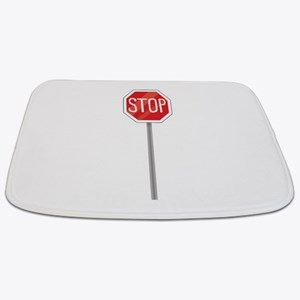 Stop Sign Bathmat