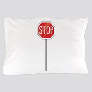 Stop Sign Pillow Case