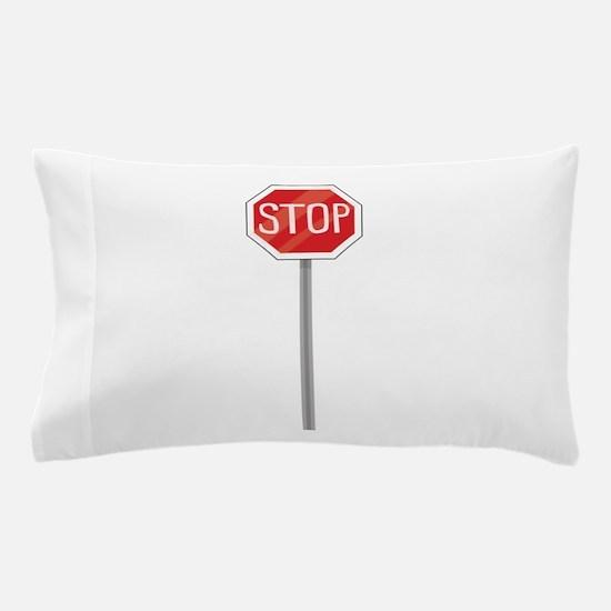 Stop Sign Pillow Case