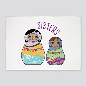 Sisters 5'x7'Area Rug