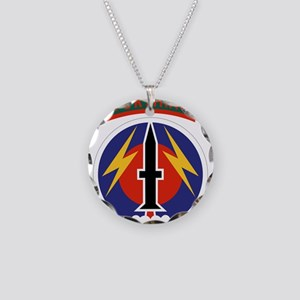 56 Field Artillery Command.p Necklace Circle Charm