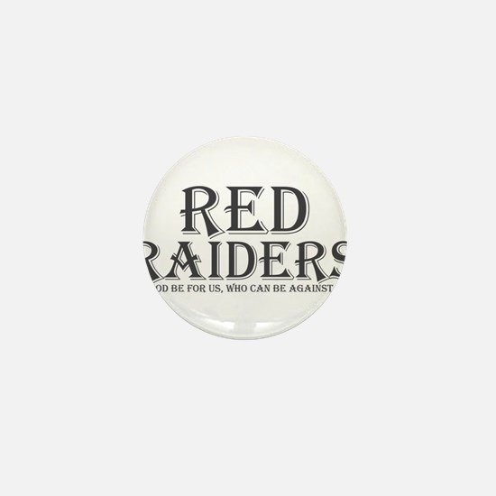 Red Raiders Mini Button