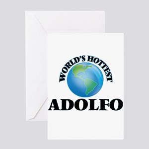 World's Hottest Adolfo Greeting Cards