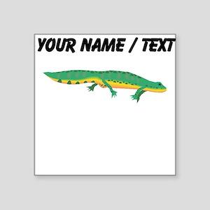 Custom Green Newt Sticker