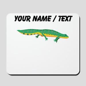 Custom Green Newt Mousepad