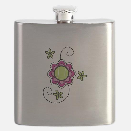 Tennis Flower Flask