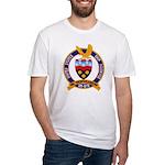 USS HAWKINS Fitted T-Shirt