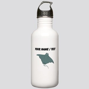 Custom Manta Ray Water Bottle