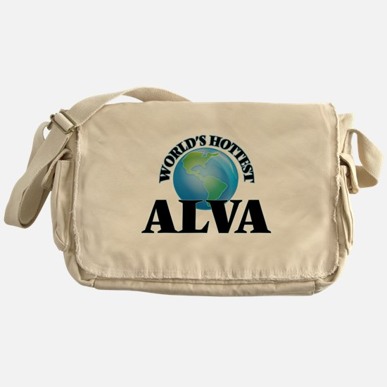 World's Hottest Alva Messenger Bag