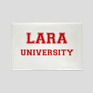LARA UNIVERSITY Rectangle Magnet