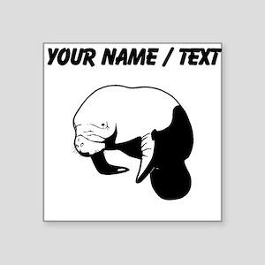 Custom Manatee Sticker