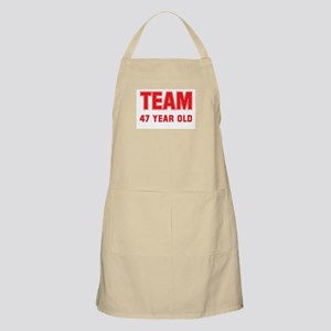 Team 47 YEAR OLD BBQ Apron