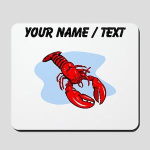 Custom Red Lobster Mousepad
