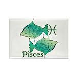 Zodiac Sign Pisces Sym Rectangle Magnet (100 pack)
