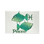 Zodiac Sign Pisces Symb Rectangle Magnet (10 pack)