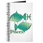 Zodiac Sign Pisces Symbol Journal