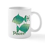 Zodiac Sign Pisces Symbol Mug