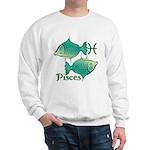 Zodiac Sign Pisces Symbol Sweatshirt