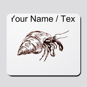 Custom Hermit Crab Mousepad