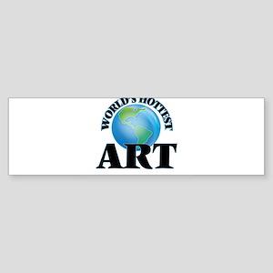 World's Hottest Art Bumper Sticker
