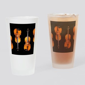 Violas-ViolinsRug Drinking Glass