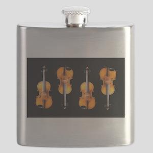 Violas-ViolinsRug Flask