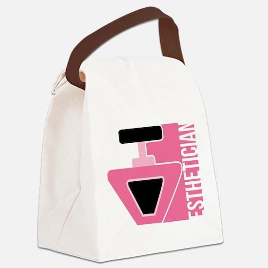 Esthetician Career Job Design Canvas Lunch Bag