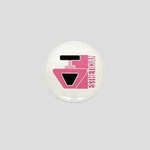 Esthetician Career Job Design Mini Button