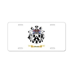 Giacchi Aluminum License Plate