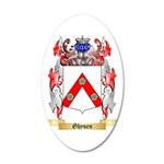 Ghysen 35x21 Oval Wall Decal