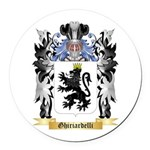 Ghiriardelli Round Car Magnet