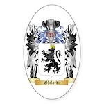 Ghilardi Sticker (Oval 50 pk)