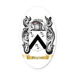 Ghiglione Oval Car Magnet