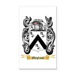 Ghiglione Rectangle Car Magnet