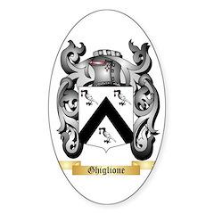 Ghiglione Sticker (Oval)